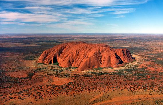 i luoghi naturalistici dell'Australia