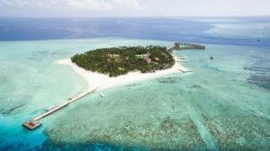 Maldive Alimatha landscape
