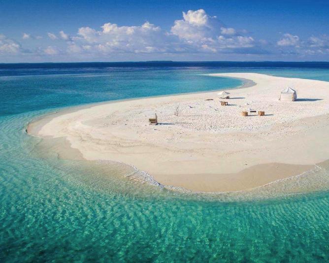 Beach Hotel alle Maldive