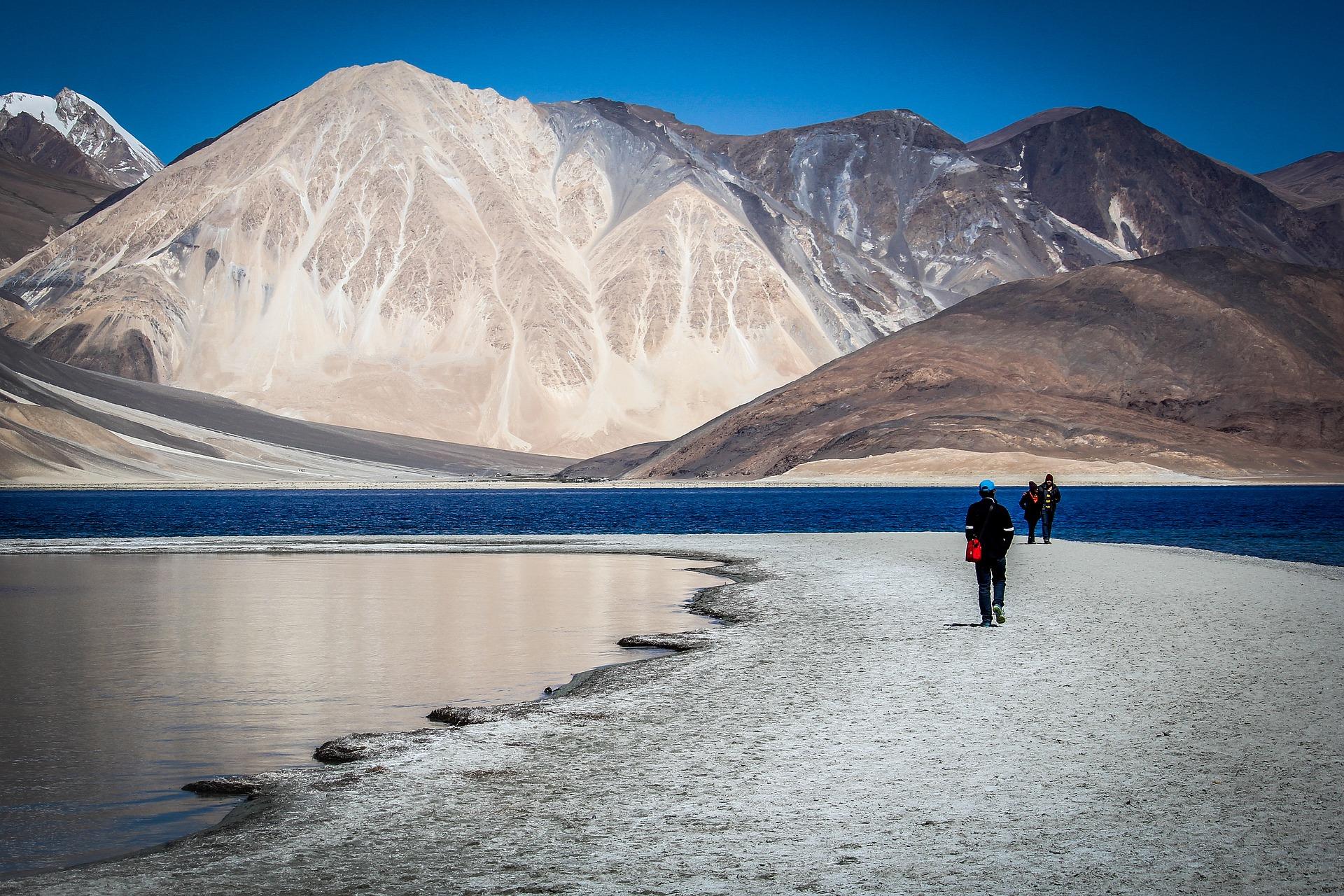 Ladakh, India: lassù, in fondo al mare